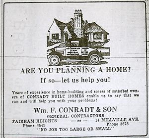 Conradt & Son Advertisement