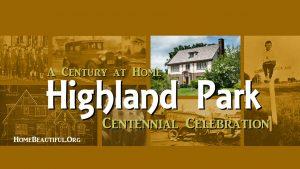 Highland Park Centennial Banner